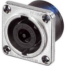 Neutrik NL8MPR 8 Polos Speakon Chasis Panel Mount Socket Dj níquel metal Square