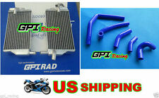 FOR Honda CR250 CR250R 2002 2003 2004 02 03 aluminum radiator&silicone hose