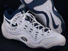NDS 1997 Nike Air Grill Sz 14 White/Navy - BANNED rare bakin melt b-que logo 97