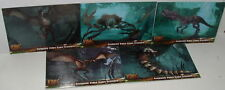 KING KONG - VIDEO GAME CREATURES -  5 CARD  SET