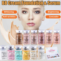 12 pièces/ensemble 8 ml BB Crème Glow Éclaircissant Blanchissant Semi-permanent