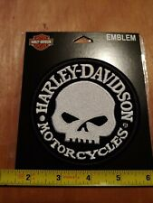 Harley-Davidson embroidered patch