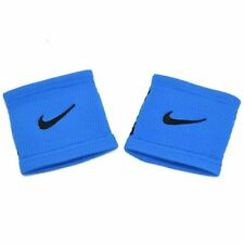 NIKE DRI-FIT STEALTH Swoosh Wristbands, Blue x Black