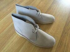 Clarks Desert Boots Sand Made In England UK 8.5 SCARCE!  BRAND NEW!