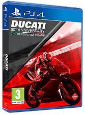 PS4 Ducati 90th Anniversary Nuevo Precintado Pal España