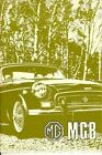 MG MGB 1969 1970 1971  Official Owners Driver's Handbook Guide Tourer Glovebox