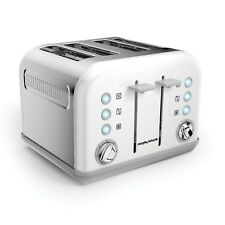 Morphy Richards 242032 Off White Accents 4 Slice Toaster