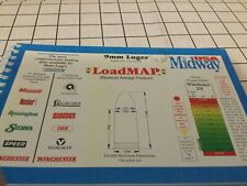 LoadMap Midway Usa 9mm Lugar Reloading Recipe Book 1998 Excellent