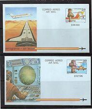 España Aviones Aerogramas del año 1984 (DG-318)