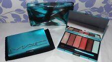 MAC Swarovski ~ GEM JEWELED BLUE LIP PALETTE ~ 6 Lipstick / Gloss Shades RARE!