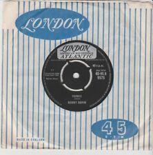 "Bobby Darin ""Things/jailer Bring Me Water"" 1962 London 7"""