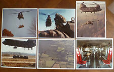 U.S. ARMY AVIATION~CH-47 CHINOOK~BOEING VERTOL HELICOPTER Co.~6 PHOTOS~A.L.A.T.~