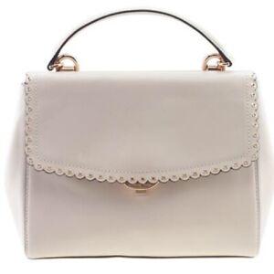 Michael Kors Rare Pink Ava Scalloped leather bag, MSRP $328
