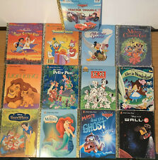 Lot of 13 a Little Golden Book: Walt Disney's Pictures books for Kids, Hardcover