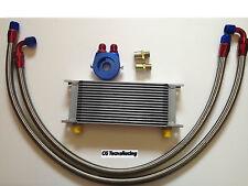 Kit radiatore olio auto Universale  racing 16 file oil cooler kit car racing 16R