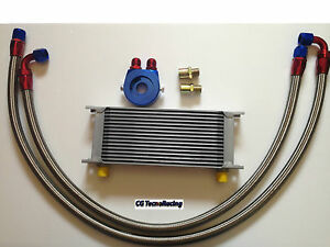 Kit radiatore olio auto Universale  racing 16 file oil cooler kit car racing 16R