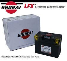 Shorai LFX Lithium Iron Motorcycle Battery Suzuki GSR600 06-07-08-09-10-11-12