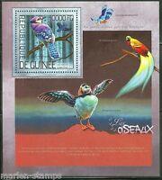 GUINEA  2014  BIRDS SOUVENIR SHEET MINT NH