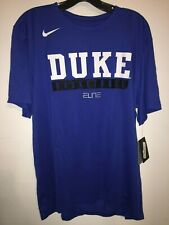 The Nike Tee Duke Basketball Elite Practice Game Royal Blue & Black Short Sleeve