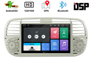 Autoradio Stereo Android FIAT 500 2007-2015 GPS WI-FI Bluetooth DSP Schermo HD