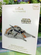 Hallmark Star Wars Rebel Snowspeeder Ornament Empire Strikes Back 2010