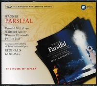 Wagner Parsifal CD NEW Donald McIntyre Waltraud Meier