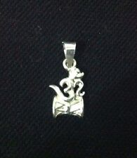 Fancy A+++ Fine Quality 925 Sterling Silver Om / Aum  Damru Pendent  For  Gift