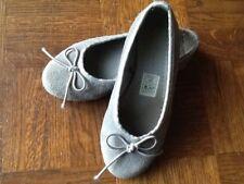 BAllerines cuir daim gris 28 monoprix