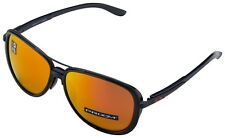 Oakley Split Time Women's Sunglasses OO4129-0458 Matte Black | Prizm Ruby Lens