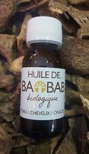 Baobab Oil 100% Organic Cold Pressed Unrefined African Baobab Seed Oil 60 ml