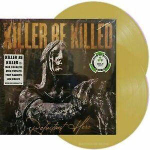 Killer Be Killed - Reluctant Hero - New Limited Edition Gold Vinyl 2LP
