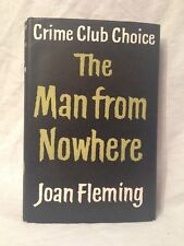 Joan Fleming - The Man From Nowhere - 1st/1st 1960 in Original Dustwrapper