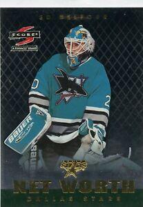 1997-98 Score Net Worth #18 Ed Belfour