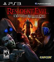 Resident Evil: Operation Raccoon City (Sony PlayStation 3, PS3, 2012) *COMPLETE*