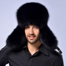 Mens Trapper Ski Russian Hat Ushanka Cossack Sherpa Winter Warm Ear Flap Outdoor