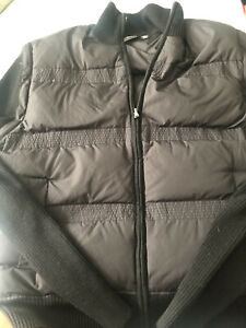 Hugo Boss Mens Puffer Vest Jacket With Detachable Sleeves Large. Barely Worn