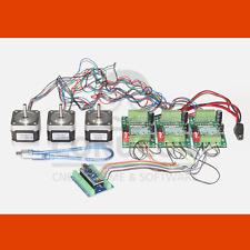 3d del cnc USB motor PAP control controller set nema 17 1,7a con software de inventario