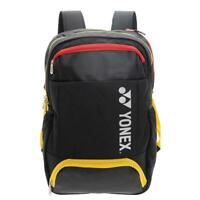 Yonex Active Backpack Tennis/ Badminton Bag For Gear And Racquets In Black