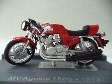 COLLECTIBLE MOTORCYCLE w/ BOX - MV AGUSTA 750S 1973 - IXO 1:24