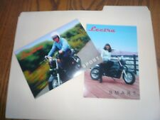 1998 Lectra Motorcycle Sport & Smart ORIGINAL Factory Postcards - Two
