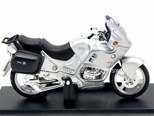 MOTO BMW R1100 RT ARGENT - 1/18 Welly