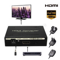 1080P HDMI to HDMI + SPDIF + RCA L/R Audio Splitter Converter Adapter 5V  new