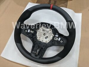 New Genuine BMW M Performance Alcantara Steering Wheel 1 2 3 Series Z4 F40 G20