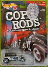 Hot Wheels Cop Rods 6+1999 Boys 1:64 Cars Police Rod 32 Ford Vicky Syracuse, NY.