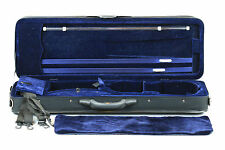 New rectangle violin case 4/4 size extra light weight many features free postage