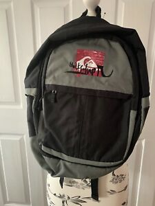 QUICKSILVER Backpack - Black & Grey school bag, office, travel or sports use.
