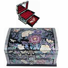 Jewelry Box Mother of Pearl Jewelry Organizer Jewelry Holder Craftsman 5202QB