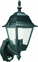 Lantern Exterior 4 Glass with Detector Motion Lamp Apply Wall