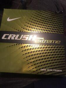 Nike Golf Balls Crush Extreme NIB 16ct