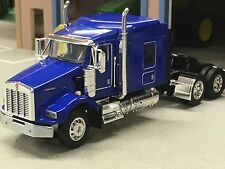 "1/64 DCP BLUE KENWORTH T800 W/ 72"" SLEEPER"